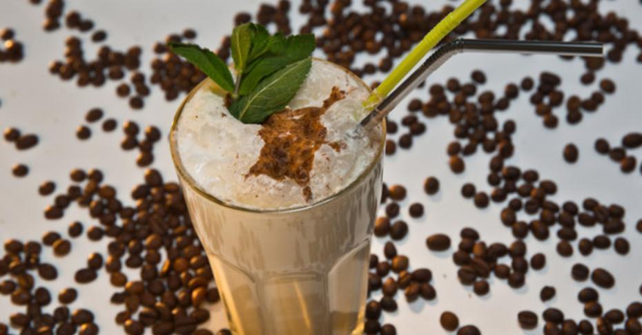 Кофе с мороженым – рецепт с фото пошаговый