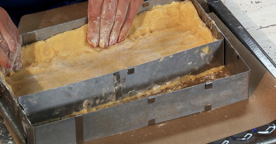 фермерский сырный пирог с грушей