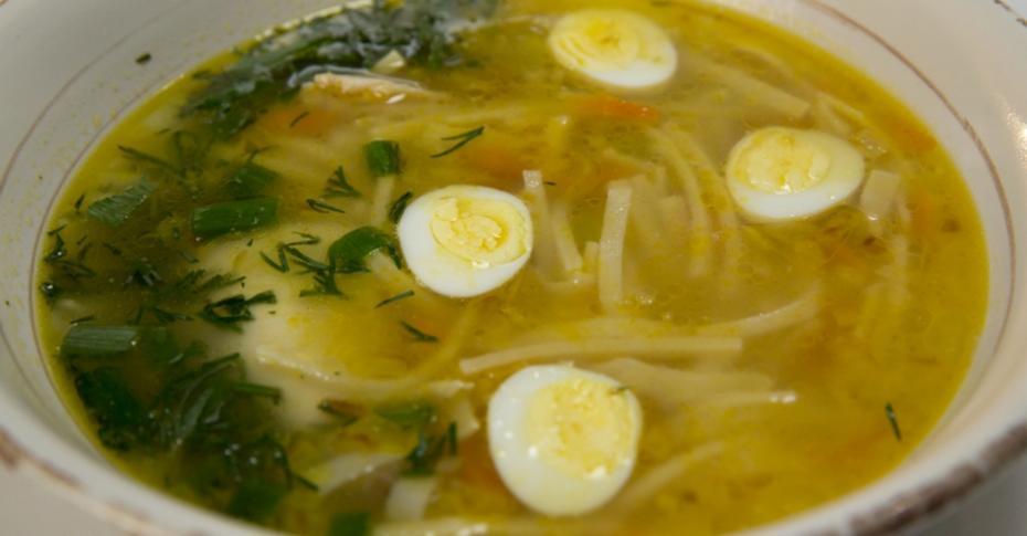 овощной суп с лапшой рецепт
