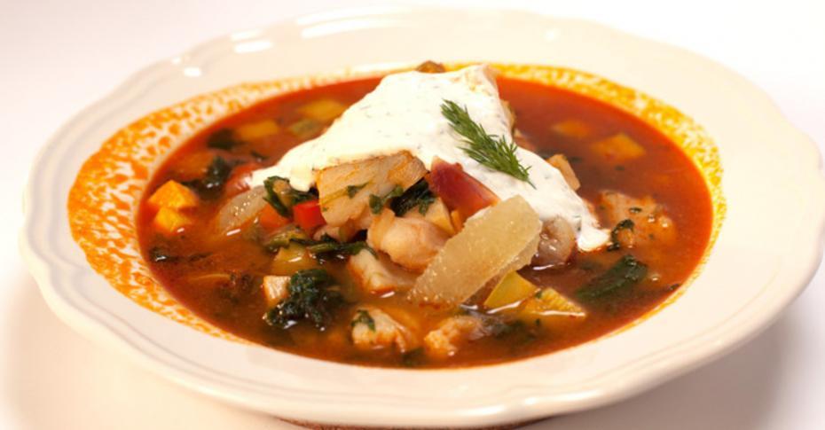 рецепт супа из филе тилапии