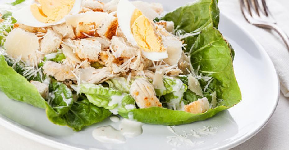 рецепт цезаря с курицей и грушей