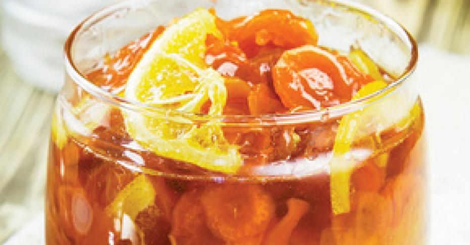 рецепт моркови с лимоном