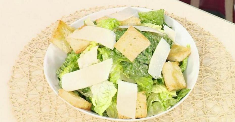 Салат цезарь илья лазерсон