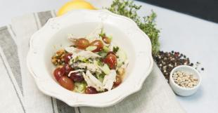 салат с рисовым уксусом рецепты