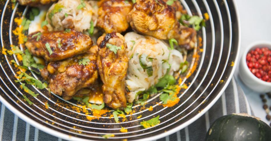 Куриные крылья с лимоном и чесноком: простой рецепт